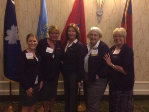 2015 THIMA Delegates at the HOD during the AHIMA Convention
